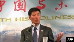 Thủ tướng của chính phủ lưu vong Tây Tạng Lobsang Sangay
