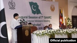 پاکستان کے وزیر داخلہ چوہدری نثار