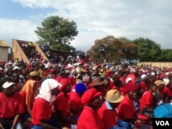 Some of the people who attended the MDC-T Extraordinary Congress in Bulawayo on Saturday.