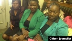 Some of the women parliamentarians who were sworn-in this week in Harare