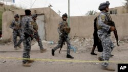 Pripadnici iračke federalne policije