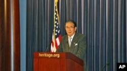 石原慎太郎在美国传统基金会演说