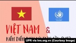 Dự kiến ngày 22/1/2019 Việt Nam sẽ tham gia đối thoại về Báo cáo quốc gia UPR tại Hội đồng Nhân quyền Liên Hợp Quốc ở Geneva, Thụy Sỹ. (UPR via HRS.org.vn)