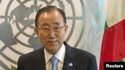 Ban Ki-moon, Secrètaire général de l'ONU