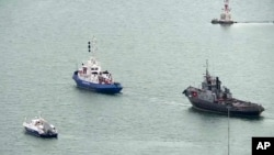 Hôm 18/11/2019, Nga đã trao trả ba tàu hải quân cho Ukraina mà họ bắt giữ vào năm ngoái.
