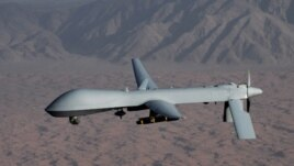Undated handout image courtesy of the U.S. Air Force shows a MQ-1 Predator unmanned aircraft (drone).