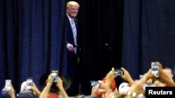 Trùm bất động sản Donald Trump là ứng cử viên tranh cử tổng thống của đảng Cộng hòa.
