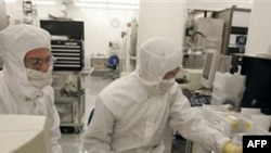 В лаборатории нанотехнологий американской компании Hewlett Packard