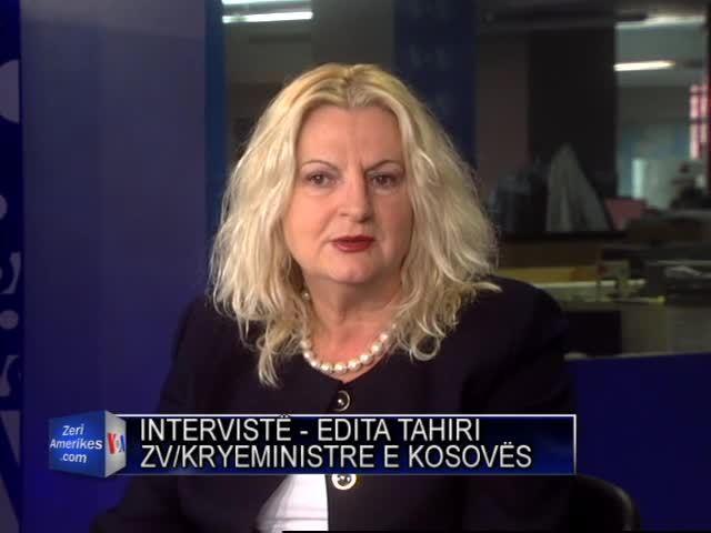 Intervistë me znj. Edita Tahiri