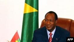 L'ex-président du Burkina Faso, Blaise Compaoré.
