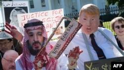Protesti zbog nestanka Džamala Kašogija