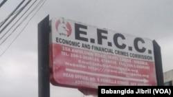 Ofishin EFCC a jihar Legas da ke kudu maso yammacin Najeriya