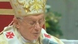 教皇呼吁信众超越圣诞节日浮华