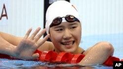 La nadadora china Ye Shiwen está bajo sospecha de dopaje luego de su sorprendente crono en los 400 metros combinado individual.