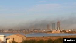 利比亞敵對雙方3月5日在的黎波里機場外爆發戰鬥