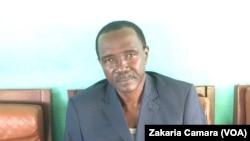 Ibrahima Keïta ex secrétaire général de l'APA, à Conakry, Guinée, novembre 2016. VOA/Zakaria Camara