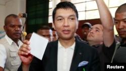 Andry Rajoelina lors des élections de 2013 à Madagascar