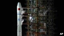 中國公佈探索外太空的五年計劃。(資料圖片)