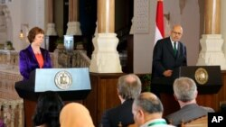 Mideast Egypt EU