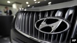 韩国最大汽车制造商现代汽车在中国有四家合营工厂(资料照片)