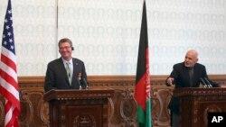 آقای کارتر گفت، امریکا در قبال افغانستان متعهد باقی میماند