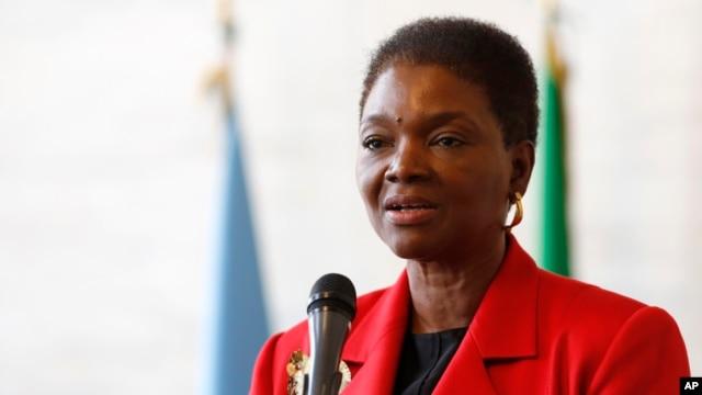 FILE - U.N. humanitarian chief Valerie Amos.