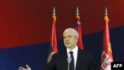 Президент Сербії БорисТадич повідомляє про арешт Горана Гадзича