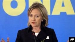 امریکہ وسطی ایشیا میں انسانی حقوق کی بہتری چاہتا ہے:ہیلری کلنٹن