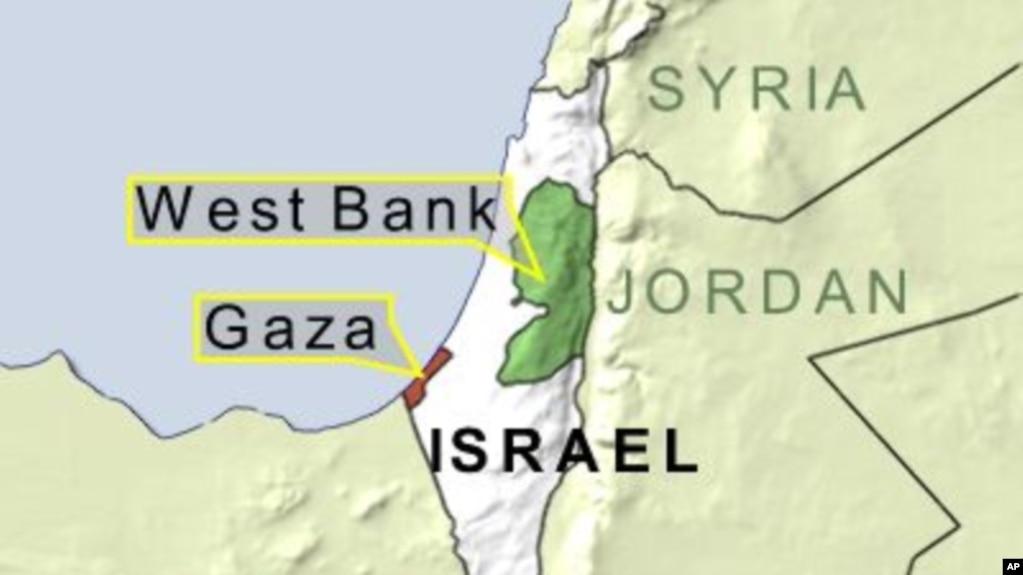 Swine flu hits gaza strip map of gaza west bank and israel gumiabroncs Images