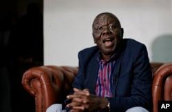 UMnu. Morgan Tsvangirai.