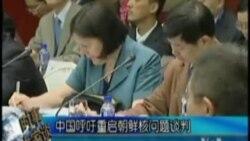 中国呼吁重启朝鲜核问题谈判