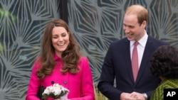 Prince William na mkewe Kate