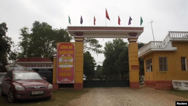 Trại giam số 5 của Bộ Công an tại Thanh Hóa, nơi tiến sĩ luật Cù Huy Hà Vũ từng bị giam giữ.