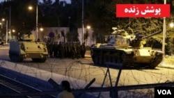 터키 앙카라 시내에 등장한 탱크.