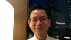 國際戰略研究所亞洲分部資深研究員鍾偉倫William Choong (美國之音黎堡2019年5月30日攝)
