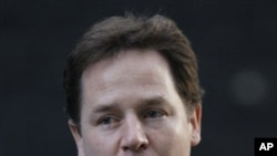 Britain's Deputy Prime Minister Nick Clegg (File Photo)