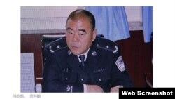 澎湃对冯志明的报道(网站截图)