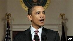 ئۆباما: دهست له کارکێشـانهوهی موبارهک ههنگاوی یهکهمه بۆ گۆڕان له میسر