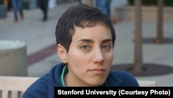 FILE - Stanford University professor Maryam Mirzakhani received the Fields Medal, the top honor in mathematics, in 2014. Mirzakhani, who battled breast cancer, died July 15, 2017, at age 40.