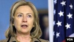 Menteri Luar Negeri Amerika Serikat Hillary Clinton