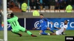 دیدار تیم های استقلال و العین امارات در تهران