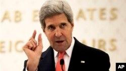 El secretario de Estado, John Kerry, concurre este miércoles a una audiencia en un comité del Senado.