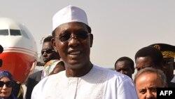 Le président tchadien Idriss Deby, à N'Djamena, Tchad, 26 décembre 2017.