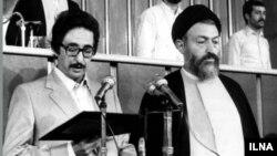 بنی صدر و محمد بهشتی
