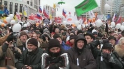 Pro-Democracy Protests Cloud Putin's March Election Plan