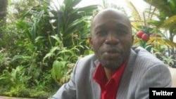Le journaliste congolais Ghys Fortuné Bemba.