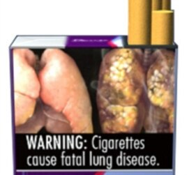 Future US Cigarette Warning Labels Graphic, Provocative