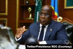 Rais Félix Tshisekedi (Twitter/Présidence RDC)