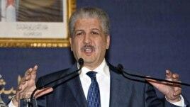 Le Premier ministre algérien Abdelmalek Sellal