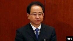 중국의 링지화 전 통일전선공작부장. (자료사진)